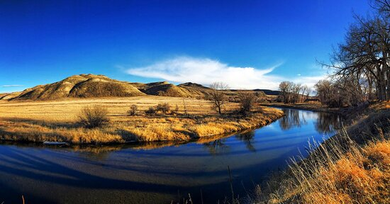 """Clearmont, WY: """"Let the big sky expand your dreams,"""" said novelist Patricia Chao after her residency at the Ucross."""