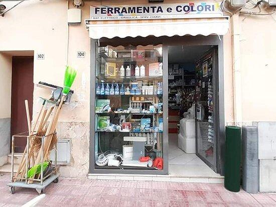 Ferramenta & Colori Tirrenia Impianti - San Nicola L'Arena (PA), vendita materiale elettrico, idraulico, ferramenta, colori, prodotti per la manutenzione nautica, riproduzioni chiavi.