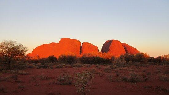 Kata Tjuta Sunset Half Day Trip: amazing colours