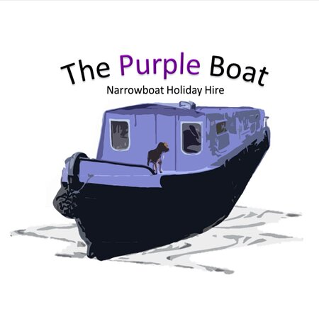 Canal Boat Hire based in Shardlow, Derbyshire. Pick up from the village and slowly cruise the Trent and Mersey.  www.narrowboatcanalholidayhire Free parking. The Purple Boat is 40ft long making her very easy to navigate