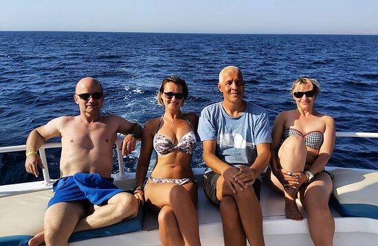 Hurghada Egipt nurkowanie z łodzi