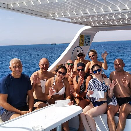 Diving Hurghada from boat