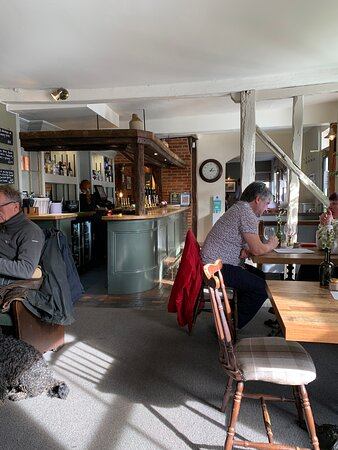 Wangford, UK: Bar