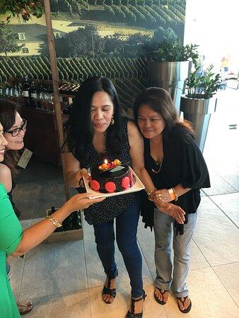 Birthday and farewell