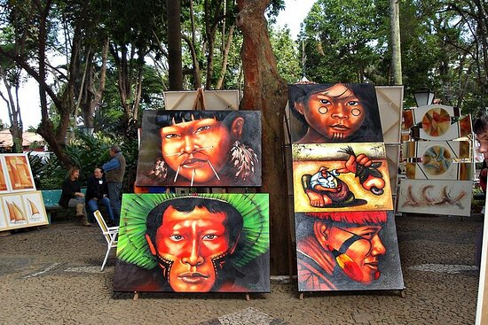 Embu das Artes Largest Handicraft Fair Tour from São Paulo
