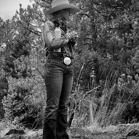Swan Lake, MT: This was our guide...and my first B/W Photo...she was amazing...but don't remember her name and also wanted her to know I took this pic of her and wanted to send to her 🙄 please let me know ☺️ Thank you so much 💕🤠