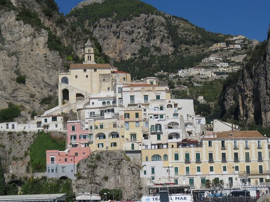 Tour to the Amalfi Coast Positano, Amalfi & Ravello from Sorrento: Amalfi