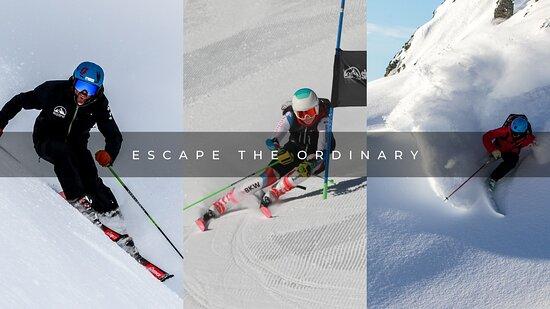 Saas-Fee, سويسرا: Escape the ordinary - Ski Zenit