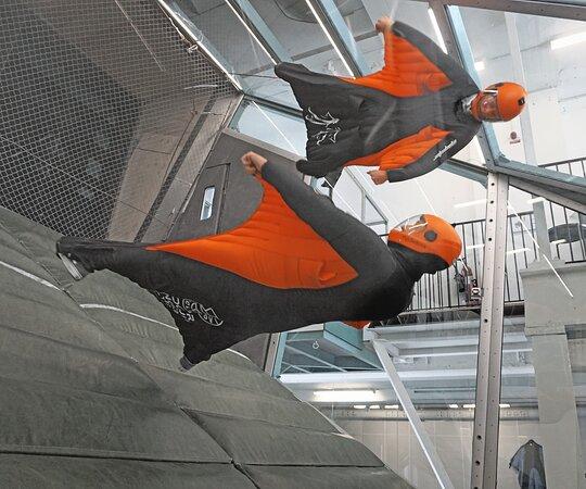 Indoor Wingsuit