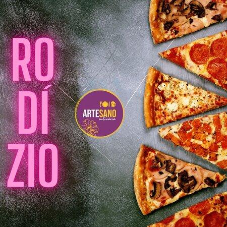 Rodizio de Pizza , onde vc escolhe os sabores ? Temos!