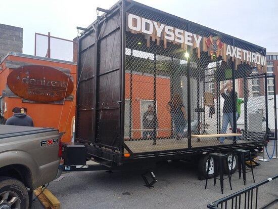 Odyssey Axe Throw