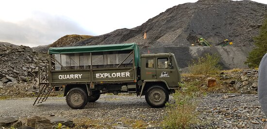 Mine and Quarry tour to remember