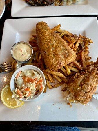 Hastings, Canada: Nice, Crispy Fish & Chips