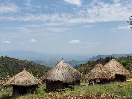Moroto, Ouganda : Views over Turkana