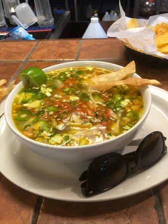 Dunlap, TN: Chicken Tortilla Soup! Yummy!
