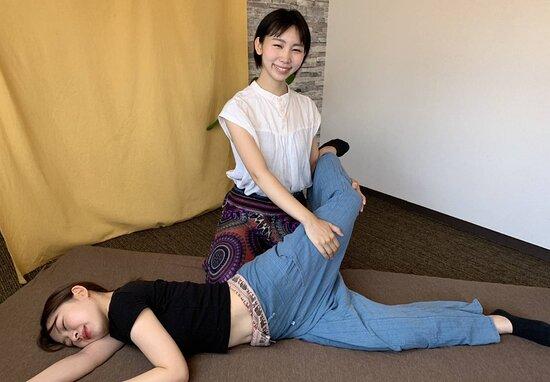 Englsih Menu Page1 - Picture of RIKYU Thai Massage&Abdominal Massage, Kyoto - Tripadvisor