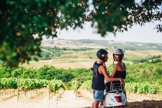 Excursion de plusieurs jours en Vespa en Toscane