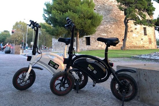 Ecobike tour in Thessaloniki