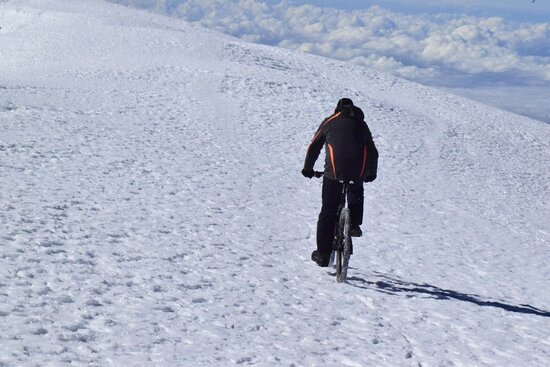 Kilimanjaro Bike Tour from Moshi : AFRICA NATURAL TOURS LTD