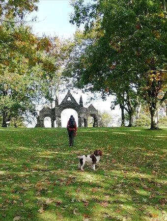 Shobdon Arches, near The Bateman Arms