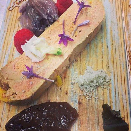 Foie gras maison au Montbazillac