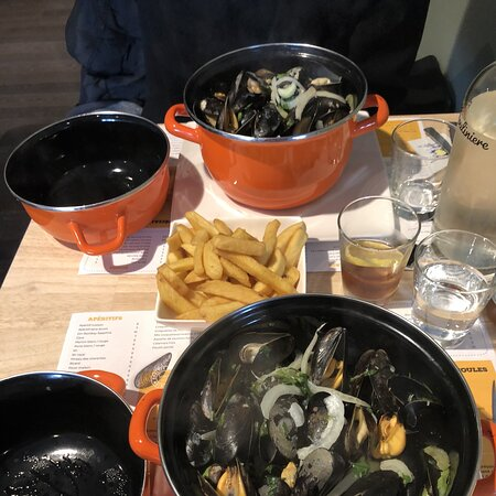 Nice place for Moules Frites