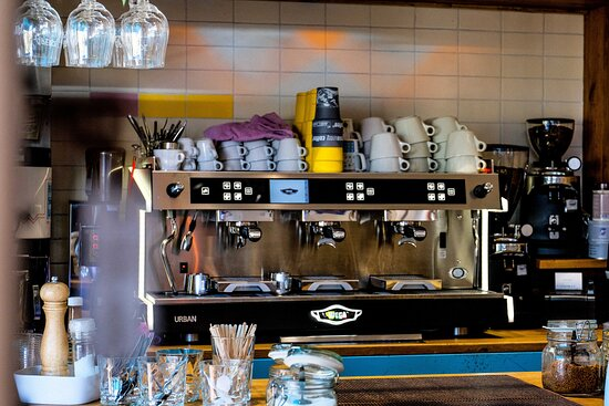 Markkleeberg, Đức: Espressomaschine
