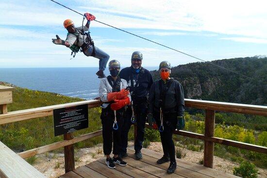 Knysna Ziplines SA Forest Adventures