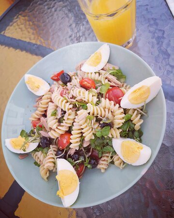Salada niçoise - atum e ovo