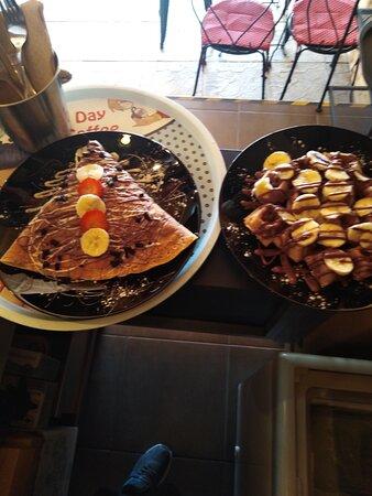 Crepe & mini Waffle