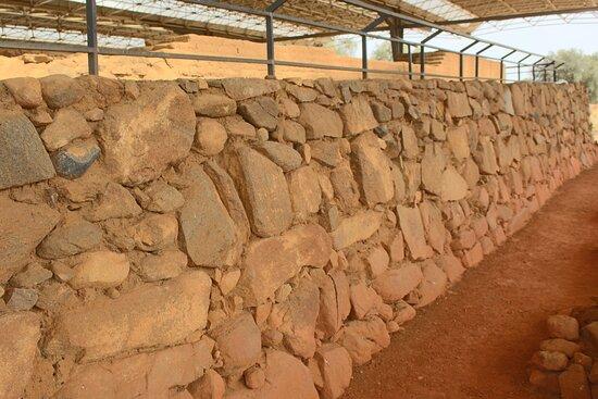 Zalamea de la Serena, España: Mura del santuario