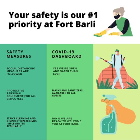 Cleanliness standards at Fort Barli