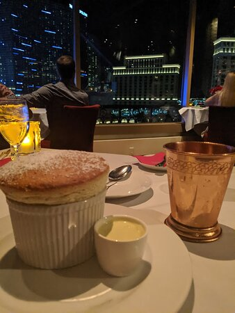 The Pistachio Souffle and Rasberry Mule