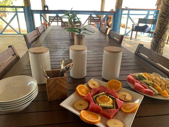 'Eua Island, Tonga: Breakfast