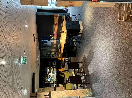 Sausheim, Frankrike: Bar Lounge