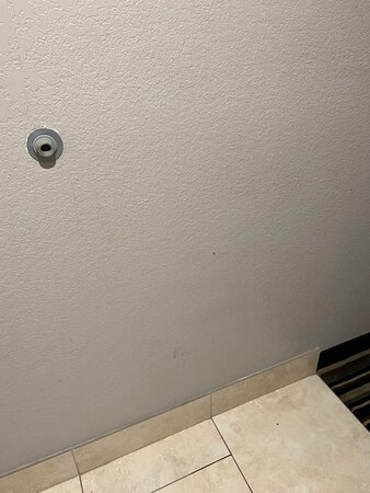 Baseboards and walls all need to to be cleaned