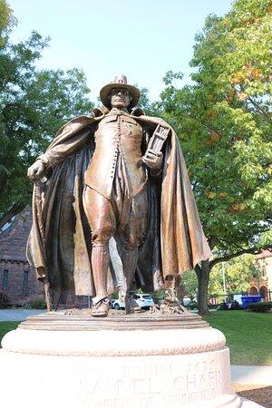 William Pynchon Statue