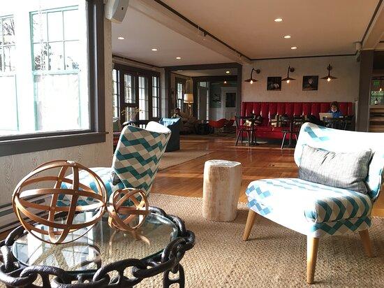 Whitehall Inn lobby.
