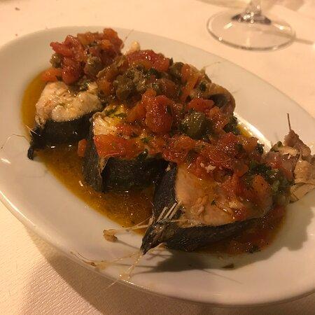 Pesce fresco e bene cucinato