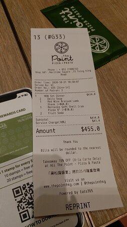 精選2人晚餐 $345