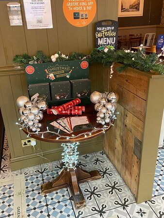 Xmas bookings now being taken...book on our website https://www.greeneking-pubs.co.uk/pubs/east-sussex/palmeira/?utm_source=g_places&utm_medium=locations&utm_campaign=
