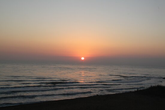 Russian Caspian Sea Coast, Russia: Восход в Дербенте.