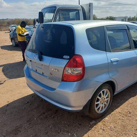 Beitbridge, Zimbabwe: Used Honda Fit $1800 Duty $1299 Agent fee $150