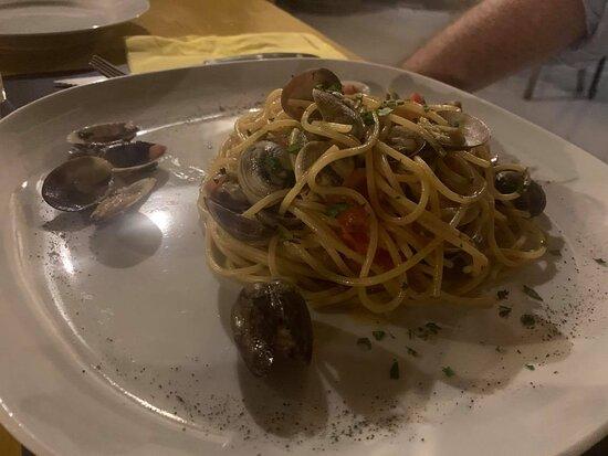 Haz-Zebbug, Malta: Spaghetti Vongole