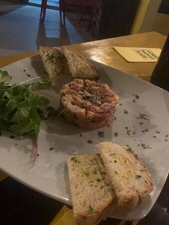 Haz-Zebbug, Malta: Salmon Tartar!
