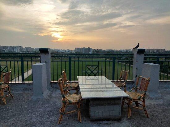 Surat District, อินเดีย: Sun Set View