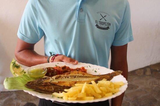 pescado fresco del día