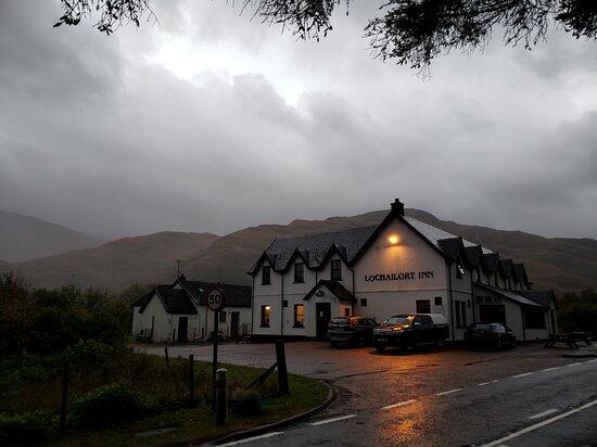 Lochailort, UK: Arriving to the Inn