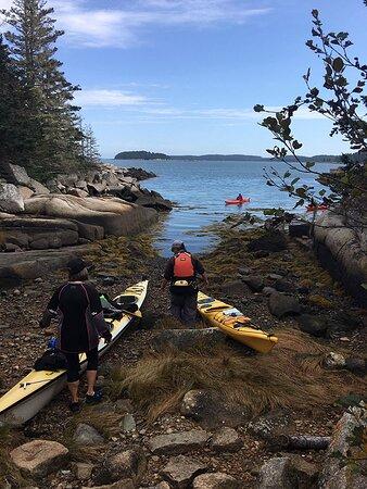 Upwest & Downeast Sea Kayaking: Beautiful time spent exploring the islands! -October 1, 2020