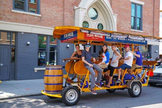 Pedal Wagon Cincinnati